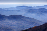 North Carolina, Blue Ridge Parkway Photographic Print by Jamie & Judy Wild