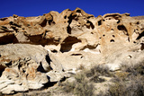 Sheldon National Wildlife Refuge, Nevada, Eroded Rock Formations Photographic Print by Richard Wright
