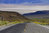 SR 190 Climbing Up from Death Valley, Mojave Desert, California Photographic Print by David Wall