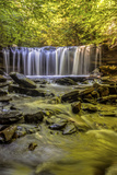 Pennsylvania, Benton, Ricketts Glen State Park. Oneida Falls Cascade Photographic Print by Jay O'brien