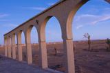 Morocco Sahara Desert Sunset Color on Arches las Palmeras Area Photo by Bill Bachmann