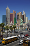 Casinos and Hotels of Las Vegas, Nevada Photographic Print by David Wall