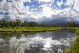 River, Grand Teton National Park, Wyoming, USA Photographic Print by Peter Adams