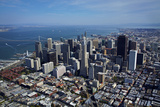 Aerial Cityscape of Downtown San Francisco, California Photographic Print by David Wall