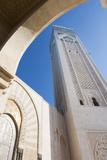 Casablanca, Morocco Exterior, Famous Hassan II Mosque Photo by Bill Bachmann