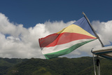Seychelles, Mahe, St. Anne Marine National Park. Seychelles Flag Photo by Cindy Miller Hopkins