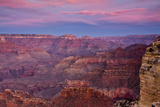 Twilight, Hopi Point, South Rim, Grand Canyon NP, Arizona, Golden Hour Photographic Print by Michel Hersen