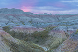 USA, South Dakota, Badlands National Park. Wilderness Landscape Photographic Print by Cathy & Gordon Illg