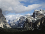 USA, California, Yosemite National Park in Winter Photographic Print by Zandria Muench Beraldo