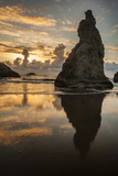 USA, Oregon, Bandon. Shore Scenic Photographic Print by Cathy & Gordon Illg