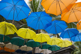 Mauritius, Port Louis, Caudan Waterfront Area with Umbrella Covering Photo by Cindy Miller Hopkins