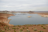 Arizona, Glen Canyon Nra with the Lake Powell Resort and Marina Photographic Print by Kevin Oke