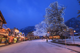 Christmas Lighting Festival, Leavenworth, Bavarian Village, Washington Photographic Print by Stuart Westmorland