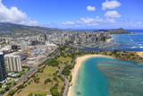 Ala Moana Shopping Center, Waikiki, Honolulu, Oahu, Hawaii Photographic Print by Douglas Peebles
