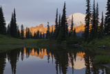 Mount Rainier at Dawn Photographic Print by Ken Archer
