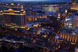 Casinos and Hotels Line the Vegas Strip, Las Vegas, Nevada Photographic Print by David Wall