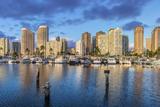 USA, Hawaii, Oahu, Honolulu, Ala Moana Marina Photographic Print by Rob Tilley