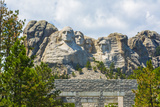 Mount Rushmore Memorial Landmark Attraction, South Dakota Photographic Print by Bill Bachmann