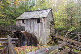 Tennessee, Great Smoky Mountains, Cades Cove, John P. Cable Grist Mill Photographic Print by Jamie & Judy Wild