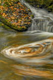Pennsylvania, Delaware Water Gap NRA. Waterfall and Swirling Pool Photographic Print by Jay O'brien