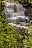 Pennsylvania, Benton, Ricketts Glen SP. Delaware Falls Cascade Photographic Print by Jay O'brien