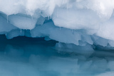 Antarctica. Close-up of an Iceberg with Reflection Photo by Janet Muir