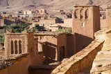 Morocco, Ait Benhaddou. Adobe Buildings of the Berber Ksar Photo by Emily Wilson