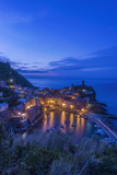 Italy, Cinque Terre, Vernazza at Dawn Photo by Rob Tilley