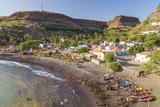 Bay, Beach and Cidade Velha Village, Santiago Island, Cape Verde Photo by Peter Adams