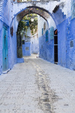 Chefchaouen, Morocco. Narrow Arched Alleyways for Foot Traffic Only Photo by Emily Wilson