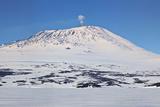 Mount Erebus, Antarctica. Panoramic Composite Photo by Janet Muir