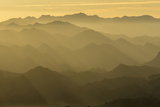 Sunset, Santa Monica Mountains, Santa Monica Mountains Nra, California Photographic Print by Rob Sheppard