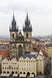 Czech Republic, Bohemia, Prague. Old Town Square with Tyn Cathedral Photo by Emily Wilson