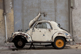 1948 Fiat Torbelino Car, Restoration Project, Alexandria, Egypt Photo by Peter Adams
