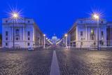 Italy, Rome, Via Della Conciliazione and St. Peter's Basilica at Dawn Photo by Rob Tilley