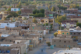 Oasis Town of Al Qasr in Western Desert of Egypt with Old Town Photo af Peter Adams