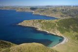 Ohau Bay, Te Ikaamaru Bay, Makara Wind Farm, North Island, New Zealand Photo by David Wall