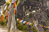 Prayer Flags Along Trail to Takshang Monastery (Tiger's Nest), Bhutan Photo by Howie Garber