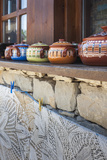 Bulgaria, Central Mountains, Arbanasi, Pottery and Embroidery Photo by Walter Bibikow
