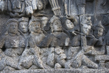 Stone Carving at Borobudur, UNESCO, Java, Indonesia Photo by Keren Su