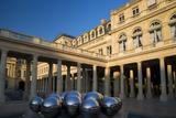 Early Morning in the Courtyard of Palais Royal, Paris, France Photo by Brian Jannsen