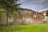 Germany, Speyer, Judenhof, Jewish Courtyard, Ancient Synagogue Wall Photo by Walter Bibikow