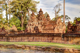 Cambodia, Banteay Srei, Tenth Century A.D Photo by Charles O. Cecil