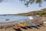 Fishing Boats on Beach, Cidade Velha, Santiago Island, Cape Verde Photo by Peter Adams
