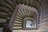 Staircase Near Rue de Faubourg Saint-Antoine, Paris, France Foto von Brian Jannsen