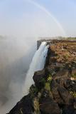 Rainbow over Victoria Falls, Zambia Photo af Peter Adams