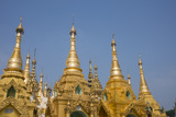 Myanmar, Yangon. Shwedagon Pagoda, Holiest Buddhist Shrine in Myanmar Photo by Cindy Miller Hopkins