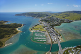 Mana Marina and Porirua Harbour, Wellington, North Island, New Zealand Photo by David Wall
