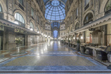 Italy, Milan, Galleria Vittorio Emanuele II at Dawn Photo by Rob Tilley
