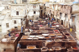 The Tannery in Fez, Morocco Photo by Peter Adams